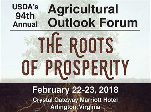 Fórum Anual de Perspectivas Agrícolas – As Raízes da Prosperidade