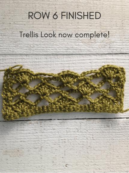 shell trellis stitch