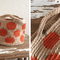 Pumpkin Basket—Free Crochet Pattern