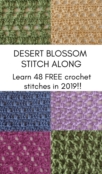Desert Blossom Stitch Along—48 FREE crochet stitches!