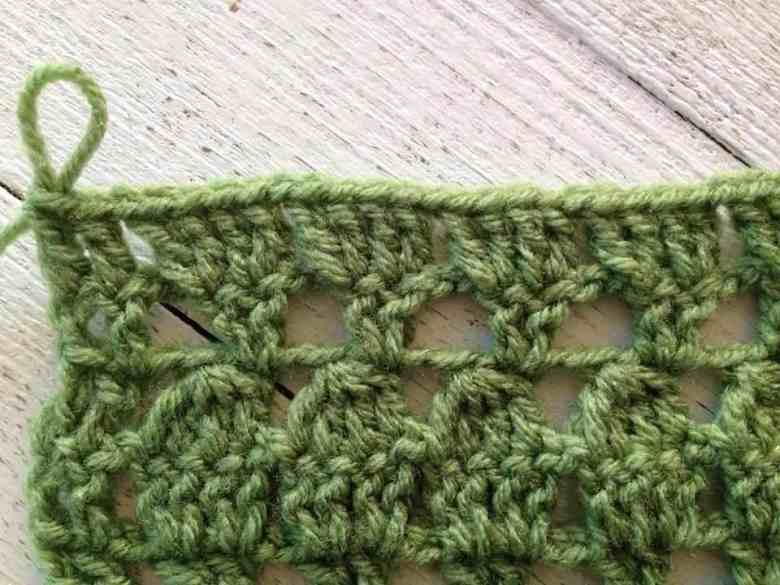 how to crochet the foliage stitch—free crochet pattern