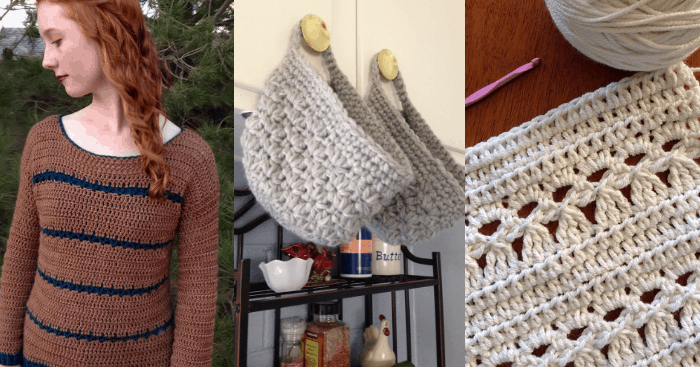 how to crochet the petal stitch—free crochet pattern