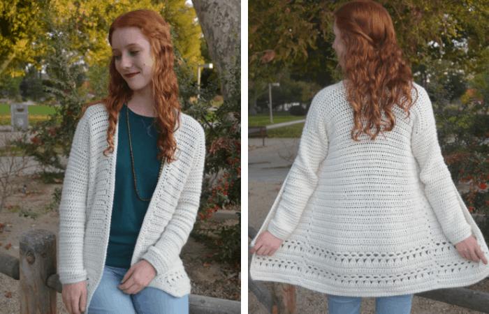 Simple Crochet Cardigan Pattern - Free!