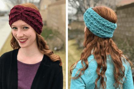 alicia earwarmer—free crochet pattern