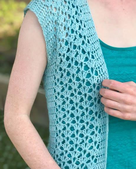 Summer Breeze Vest—FREE Crochet Pattern