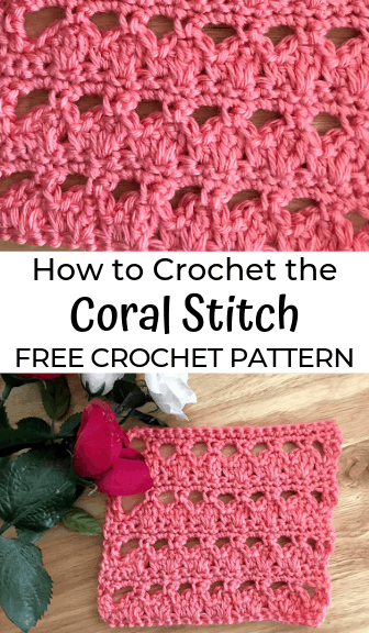 How to Crochet the Coral Stitch