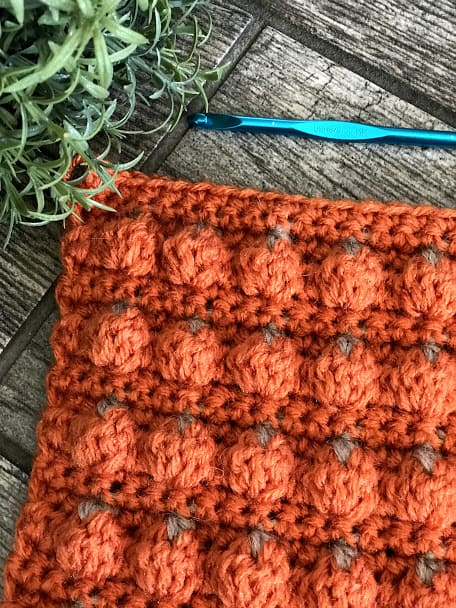 How to Crochet the Pumpkin Patch Stitch