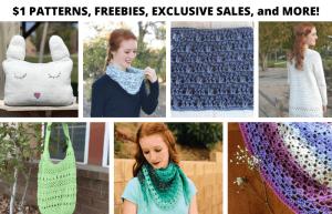 2-Year Blog Anniversary: Crochet Pattern Roundup & SALE Event!