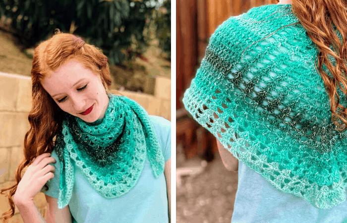 shawl in a ball crochet pattern