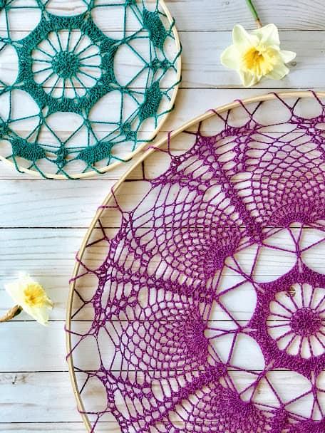 crochet mandala pattern christmas gift