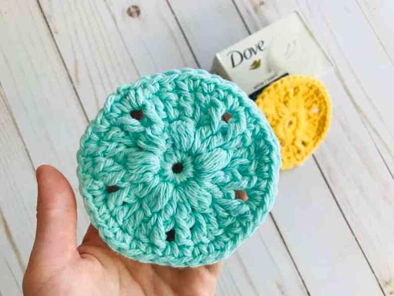 Scrubbie crochet pattern for girls