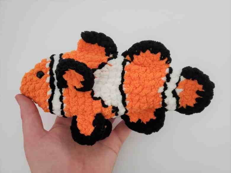 Crochet Clownfish