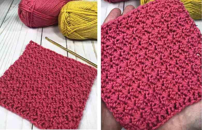 Suzette Stitch - Simple crochet stitches for scarves