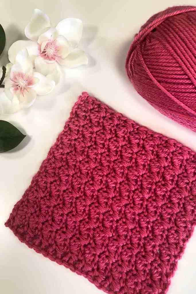 suzette stitch crochet square