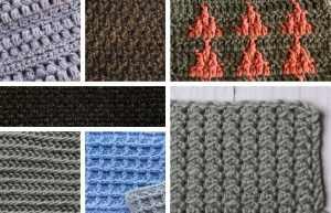10 masculine crochet stitches