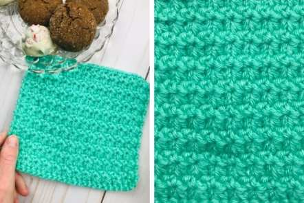 How to Crochet the Trinity Stitch - Free Pattern