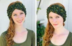 adjustable ear warmer crochet pattern