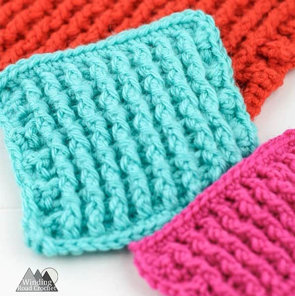 single rib stitch crochet