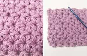 jasmine stitch crochet tutorial!