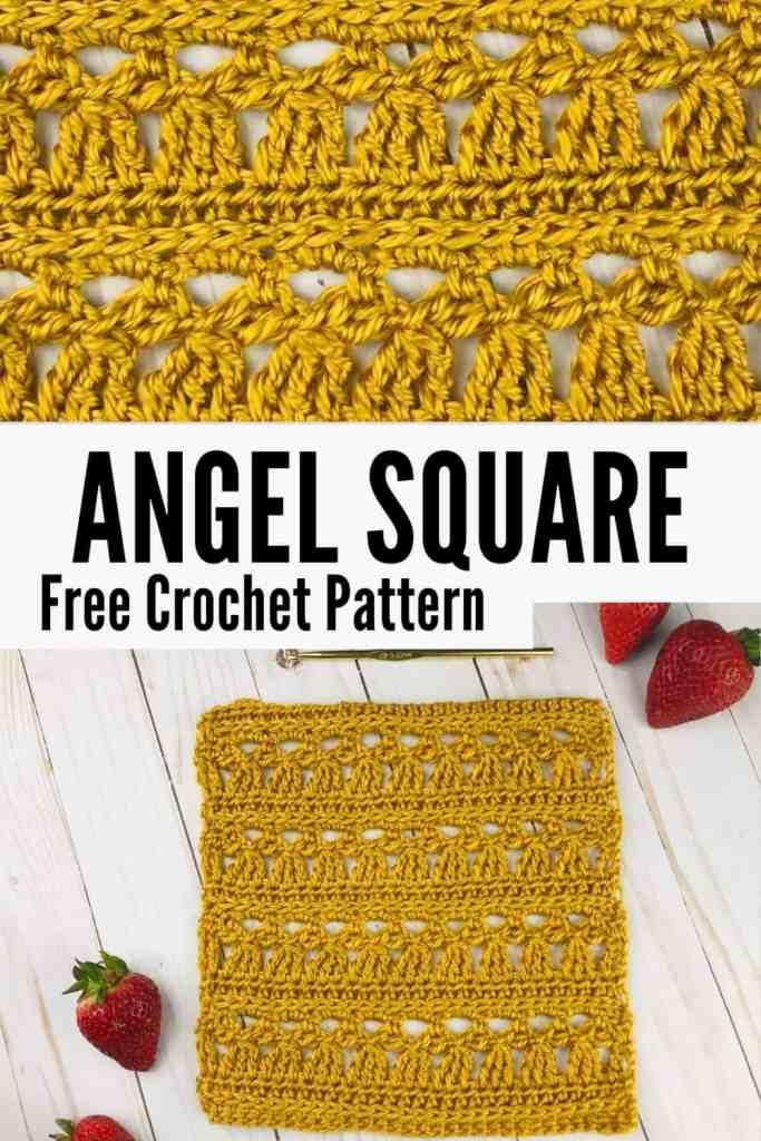 Little Angel Crochet Lace Square Pattern - FREE