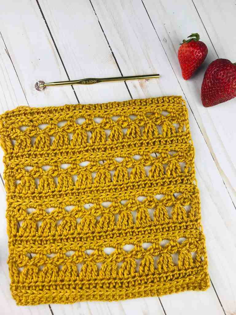 Free Crochet Lace Square Pattern