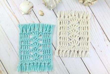 Crochet Mug Rug Free Pattern
