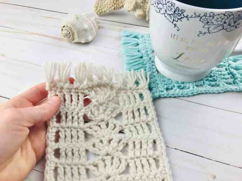 Easy Free Mug Rug Crochet Pattern