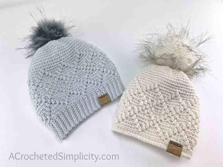 Argyle Beanie Crochet Pattern