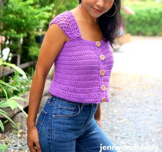 Everyday Crochet Crop Top