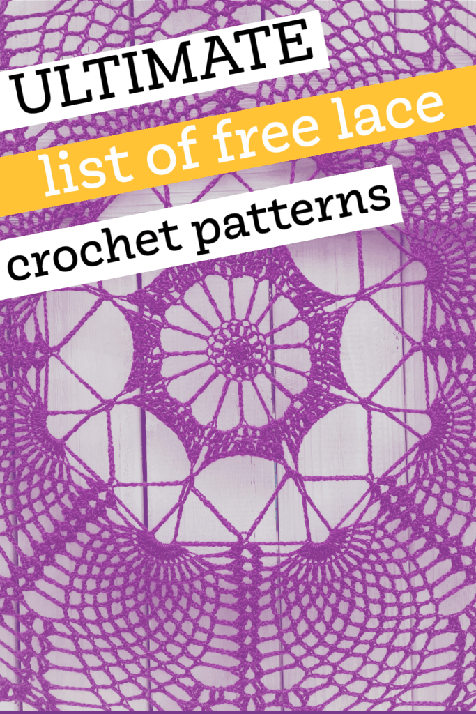 Ultimate List of Crochet Lace Patterns