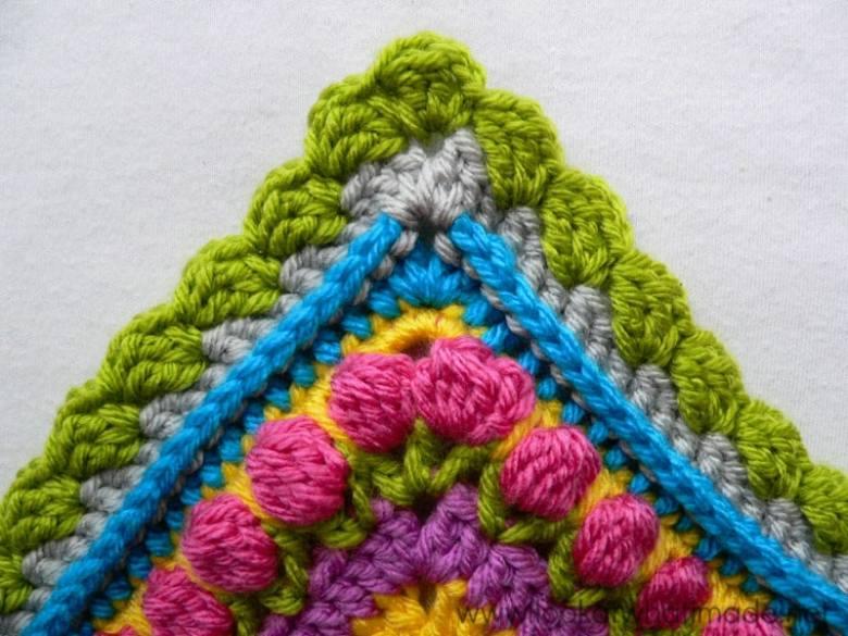 Beautiful crochet border pattern