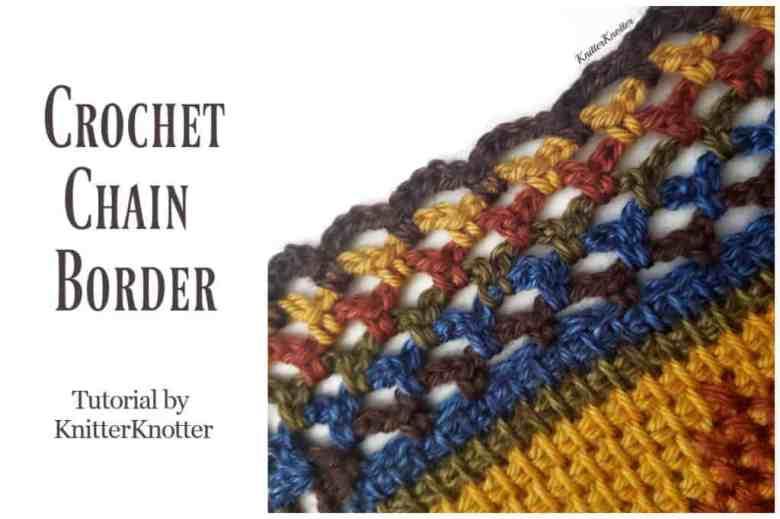 Crochet Chain Border Pattern