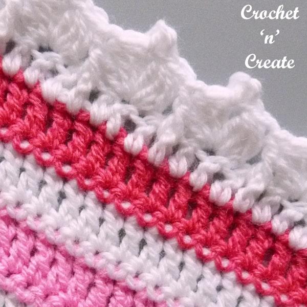 Peaked Crochet Border