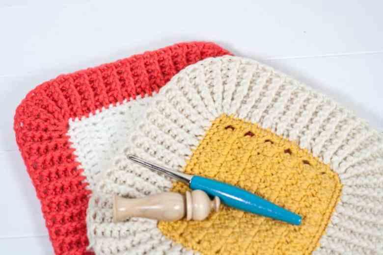 Crochet Ribbed Border