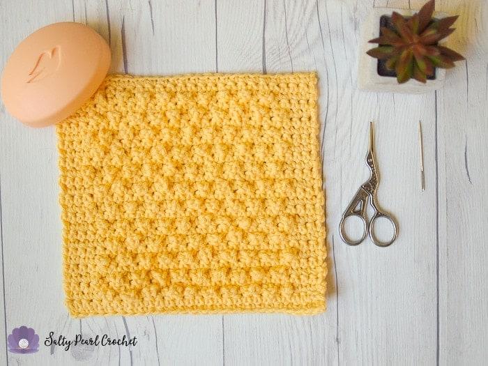Textured Berry Crochet Stitch