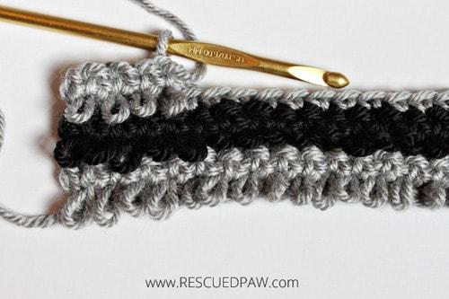 Textured Crochet Loop Stitch