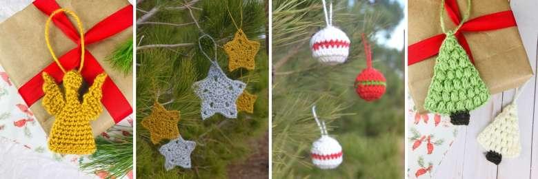 More Ornament Crochet Patterns