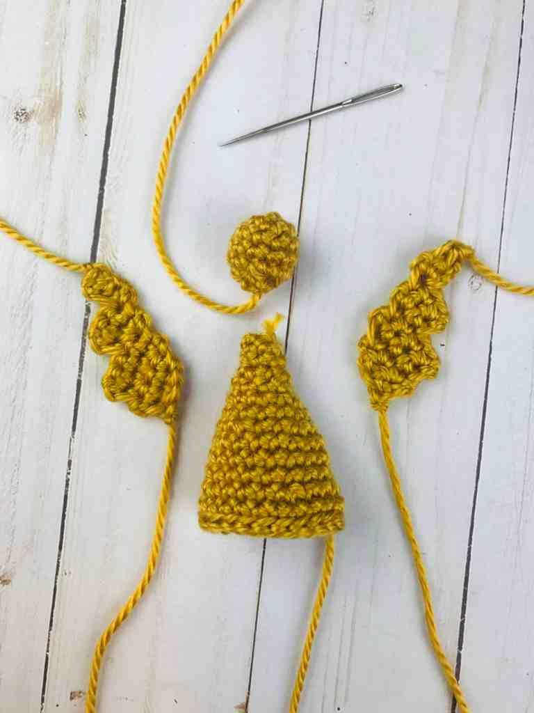 tutoriel d'assemblage d'ange au crochet