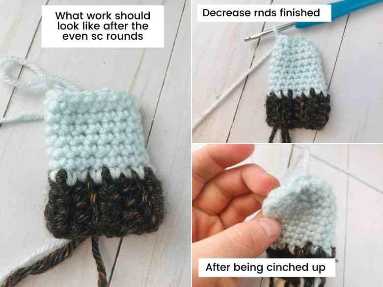 crochet mini hat tutorial