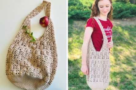 Crochet Produce Bag Pattern - Free and Easy
