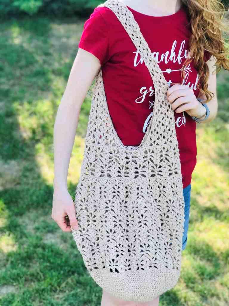 Large Crochet Market Bag Pattern