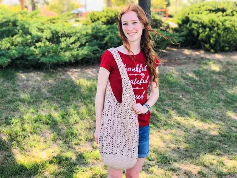 Produce Shopping Bag Crochet Pattern