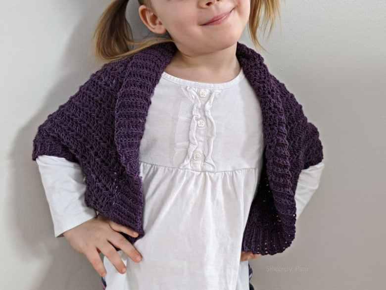 Children's Crochet-Shrug Pattern