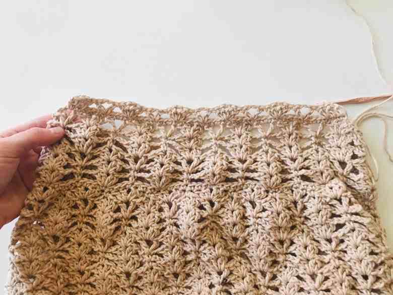 crochet grocery bag tutorial
