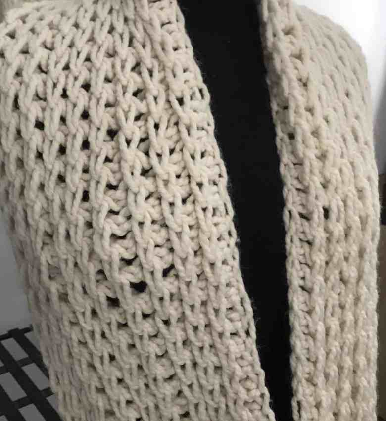 Wool Ease Thick & Quick infinity scarf pattern