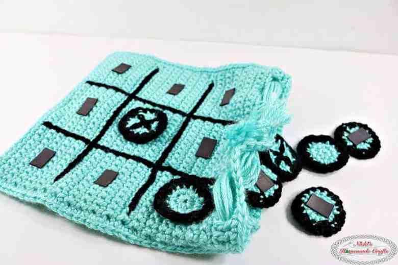 crochet tic tac toe game