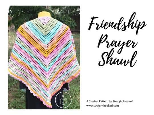 friendship prayer shawl crochet