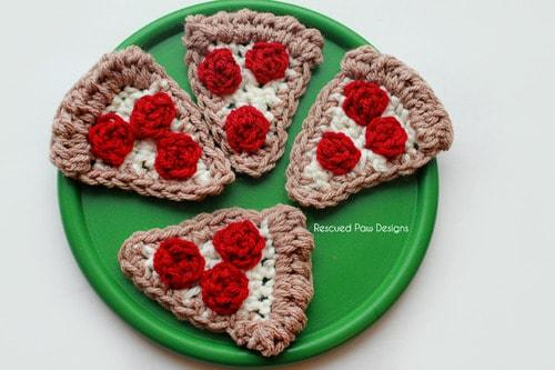 crochet pizza pattern