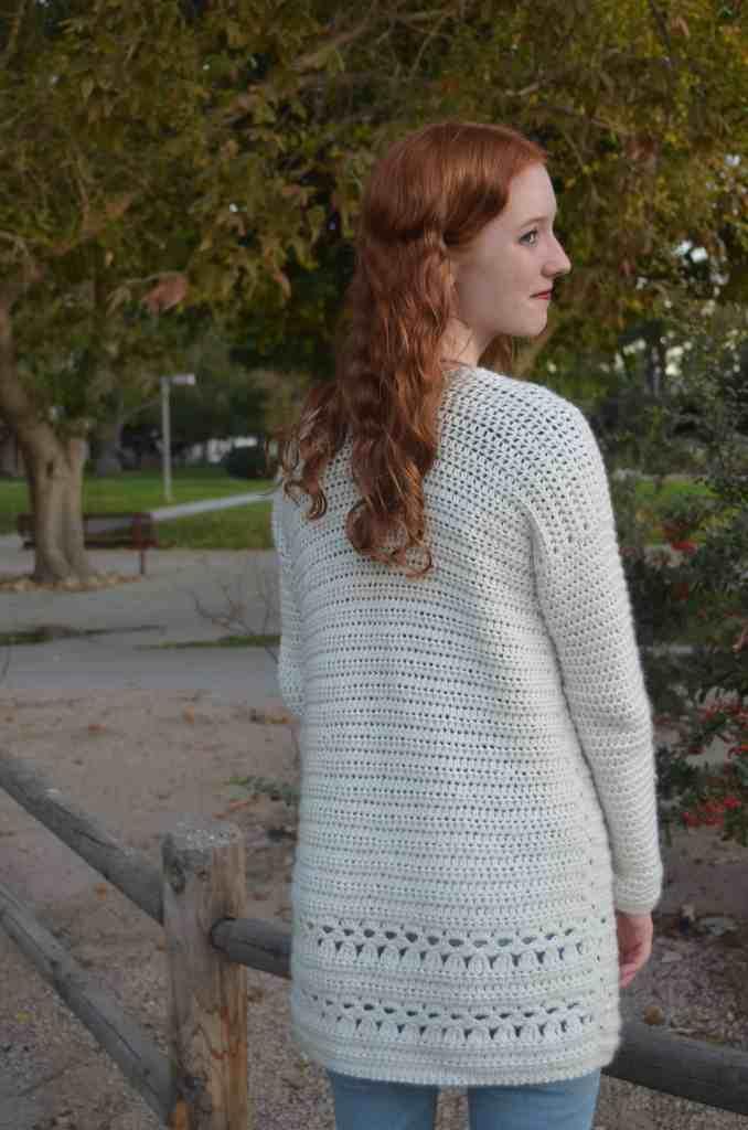 Simple Free Crochet Cardigan Pattern