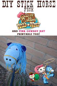 Rodeo Crafts: Callie Stick Horse